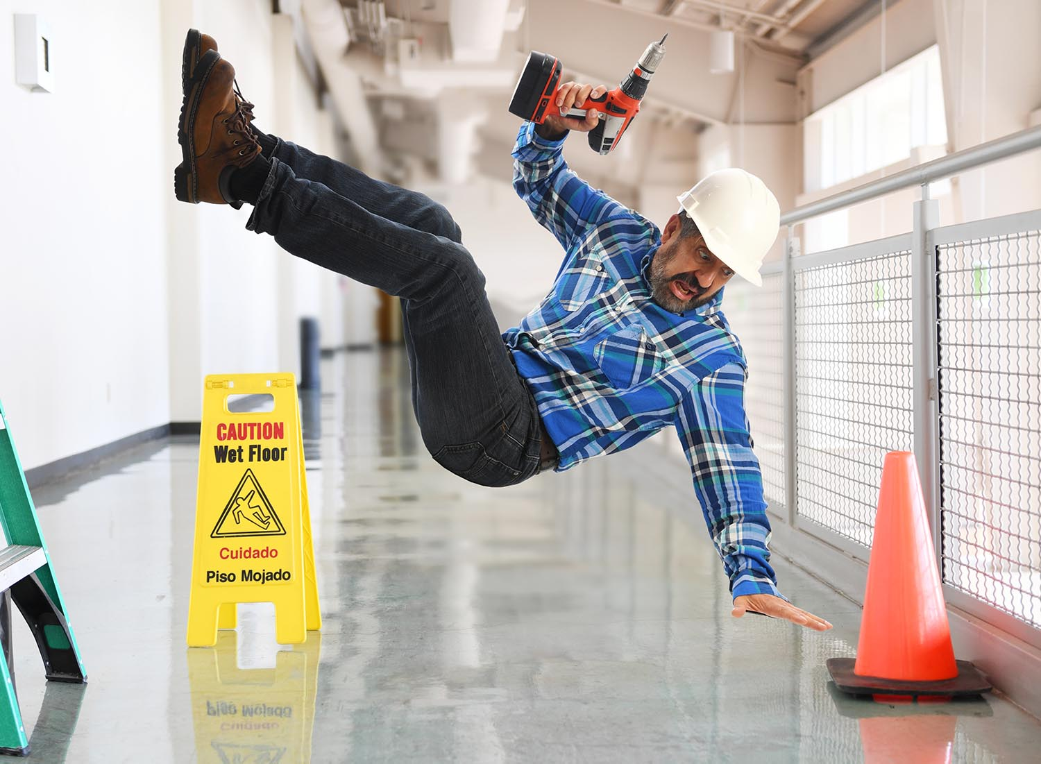 Work injuries in Post Falls and Coeur d' Alene, ID